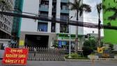 Một chung cư tại TP Dĩ An thực hiện phong tỏa phòng dịch Covid-19