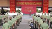 Tăng cường 250 học viên an ninh nhân dân chi viện tỉnh Bình Dương, Long An chống dịch