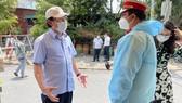 Bí thư Thành ủy TPHCM Nguyễn Văn Nên kiểm tra đột xuất công tác phòng chống dịch tại cơ sở