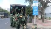 Gần 10.000 quân nhân được tăng cường cho TPHCM chống dịch