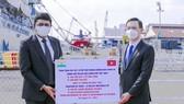 TPHCM tiếp nhận 100 tấn oxy từ Ấn Độ