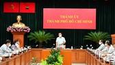 Ban Thường vụ Thành ủy TPHCM họp về kế hoạch, chiến lược phòng chống dịch và phục hồi kinh tế