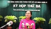Chủ tịch HĐND TPHCM Nguyễn Thị Lệ: Đồng tâm hiệp lực đưa TPHCM trở lại nhịp sống sôi động