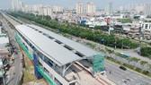 Dự án xây dựng đường sắt đô thị TPHCM tuyến số 1 (Bến Thành – Suối Tiên). Ảnh: CAO THĂNG