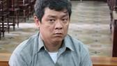 Bị cáo Trần Dương Trung tại phiên tòa