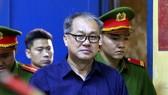 Bị cáo Phạm Công Danh tại phiên xử sơ thẩm lần trước, vào tháng 1-2018. Nguồn: VNExpress
