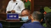 Bị cáo Nguyễn Thành Tài tại phiên tòa sáng nay 16-9. Ảnh: DŨNG PHƯƠNG
