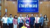 Bà Trần Thị Bích Trâm giữ chức vụ Phó Chủ tịch UBND quận 11