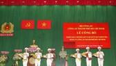 Thành lập Cơ quan Ủy ban Kiểm tra Đảng ủy Công an TPHCM