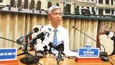 Chánh Văn phòng UBND TPHCM Võ Văn Hoan kêu gọi người dân cảnh giác với các trường hợp mạo danh cán bộ lãnh đạo. Ảnh: KIỀU PHONG