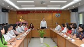 Bí thư Thành ủy TPHCM Nguyễn Thiện Nhân giao nhiệm vụ trong ngày làm việc đầu năm