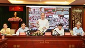 Bí thư Thành ủy TPHCM Nguyễn Thiện Nhân phát biểu tại hội nghị. Ảnh: VIỆT DŨNG