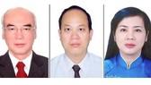 Từ trái qua, các đồng chí Phan Nguyễn Như Khuê, Nguyễn Hồ Hải và Trần Kim Yến