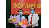 Bí thư Thành ủy TPHCM Nguyễn Thiện Nhân trao quyết định cán bộ tại quận 9