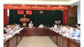 Chủ tịch HĐND TPHCM Nguyễn Thị Lệ phát biểu tại buổi giám sát về tiến độ và hiệu quả triển khai các dự án giao thông trọng điểm trên địa bàn TPHCM. Ảnh: VIỆT DŨNG
