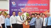 Bí thư Thành ủy TPHCM Nguyễn Thiện Nhân thăm, chúc mừng các cơ quan báo chí
