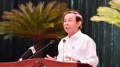 Bí thư Thành ủy TPHCM Nguyễn Văn Nên: Cụ thể hóa nghị quyết bằng chương trình sát sườn, đưa TPHCM phát triển nhanh, bền vững