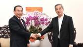 Bí thư Thành ủy TPHCM Nguyễn Văn Nên gửi lời tri ân đến đồng bào công giáo chung tay vượt qua khó khăn