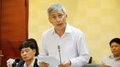 Phó Tổng cục trưởng Tổng cục Môi trường Hoàng Dương Tùng