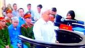 Nguyễn Đức Kiên tại phiên tòa xét xử phúc thẩm tháng 11-2014. Ảnh: T.L