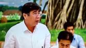 Chủ tịch UBND TPHCM Nguyễn Thành Phong phát biểu tại phiên họp