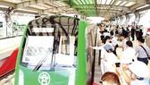 Nhà ga La Khê thuộc dự án đường sắt đô thị Hà Nội, tuyến Cát Linh - Hà Đông. Ảnh: LÃ ANH