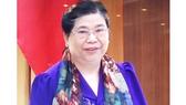 Phó Chủ tịch Thường trực Quốc hội Tòng Thị Phóng phát biểu tại phiên họp