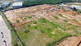 Một phần khu vực giải phóng mặt bằng cho dự án Sân bay Long Thành