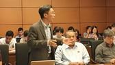 ĐB Nguyễn Việt Dũng (tổ ĐBQH TPHCM) phát biểu về dự án Luật An ninh mạng