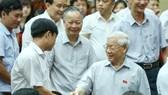 Tổng Bí thư: Mong cử tri hết sức tỉnh táo, tin tưởng sự lãnh đạo của Đảng, Nhà nước, Chính phủ
