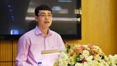 Ông Đỗ Đức Hiển, Chánh Văn phòng kiêm người phát ngôn của Bộ Tư pháp