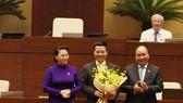 Với tỷ lệ tán thành 95,05% trên tổng số ĐBQH, ông Nguyễn Mạnh Hùng chính thức trở thành Bộ trưởng Bộ Thông tin và Truyền thông