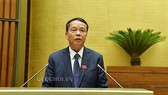 Ông Võ Trọng Việt, Chủ nhiệm Uỷ ban Quốc phòng – An ninh của Quốc hội