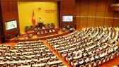 Quang cảnh một phiên họp của Quốc hội tại kỳ họp thứ 6