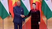 Chủ tịch Quốc hội Nguyễn Thị Kim Ngân hội kiến với Tổng thống Ấn Độ Nath Kovind