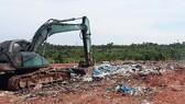 Các bãi chôn lấp không hợp vệ sinh chính là nguy cơ làm ô nhiễm các tầng chứa nước