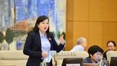 Trưởng Ban Dân nguyện Nguyễn Thanh Hải phát biểu tại phiên họp