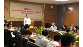 Chủ nhiệm Ủy ban Kinh tế Vũ Hồng Thanh chủ trì cuộc toạ đàm