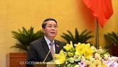 Chủ nhiệm Uỷ ban Tài chính – Ngân sách Nguyễn Đức Hải