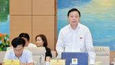 Bộ trưởng Bộ TN-MT Trần Hồng Hà . Ảnh: QUOCHOI