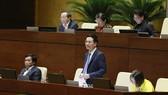 Bộ trưởng Bộ Thông tin và Truyền thông Nguyễn Mạnh Hùng. Ảnh: VIẾT CHUNG