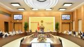 UBTVQH biểu quyết thông qua nghị quyết tại phiên họp thứ 44