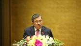 Chủ nhiệm Ủy ban Đối ngoại Nguyễn Văn Giàu cho biết, đa số ý kiến trong cơ quan thẩm tra nhất trí về sự cần thiết gia nhập Công ước số 105
