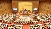 Phiên họp của Quốc hội, ngày 19-6-2020. Ảnh: QUOCHOI