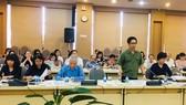 Chủ tịch VCCI Vũ Tiến Lộc phát biểu tại buổi giám sát