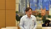 Chủ nhiệm Ủy ban Khoa học Công nghệ và Môi trường (KHCN-MT) Quốc hội Phan Xuân Dũng. Ảnh: VIẾT CHUNG