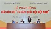 Tổng Thư ký Quốc hội, Chủ nhiệm Văn phòng Quốc hội Nguyễn Hạnh Phúc tại Lễ phát động