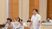 Tổng Thanh tra Chính phủ Lê Minh Khái. Ảnh: QUOCHOI
