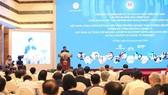 Bộ trưởng Bộ Kế hoạch và Đầu tư Nguyễn Chí Dũng phát biểu khai mạc Diễn đàn Cải cách và Phát triển Việt Nam 2020