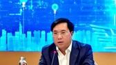 Thứ trưởng Bộ Kế hoạch và Đầu tư Trần Duy Đông chủ trì họp báo
